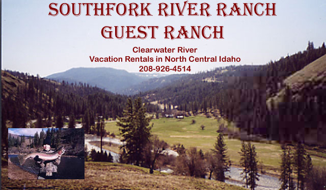 Southfork River Guest Ranch provides a relaxing  atmosphere in our fully furnished guest cottage or log cabin.